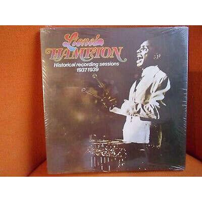 Lionel Hampton Historical recordings sessions 1937-1939 Vol. 1