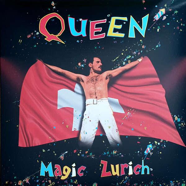 Queen Magic Zurich (lp) Ltd Edit Gatefold Sleeve And Orange Vinyl -E.U