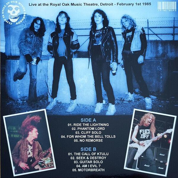 Metallica Lightning Falls On Royal Oak (lp)