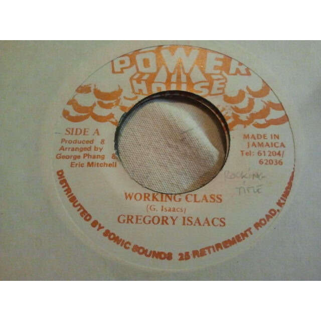 Gregory Isaacs Working Class / VERSION ORIG