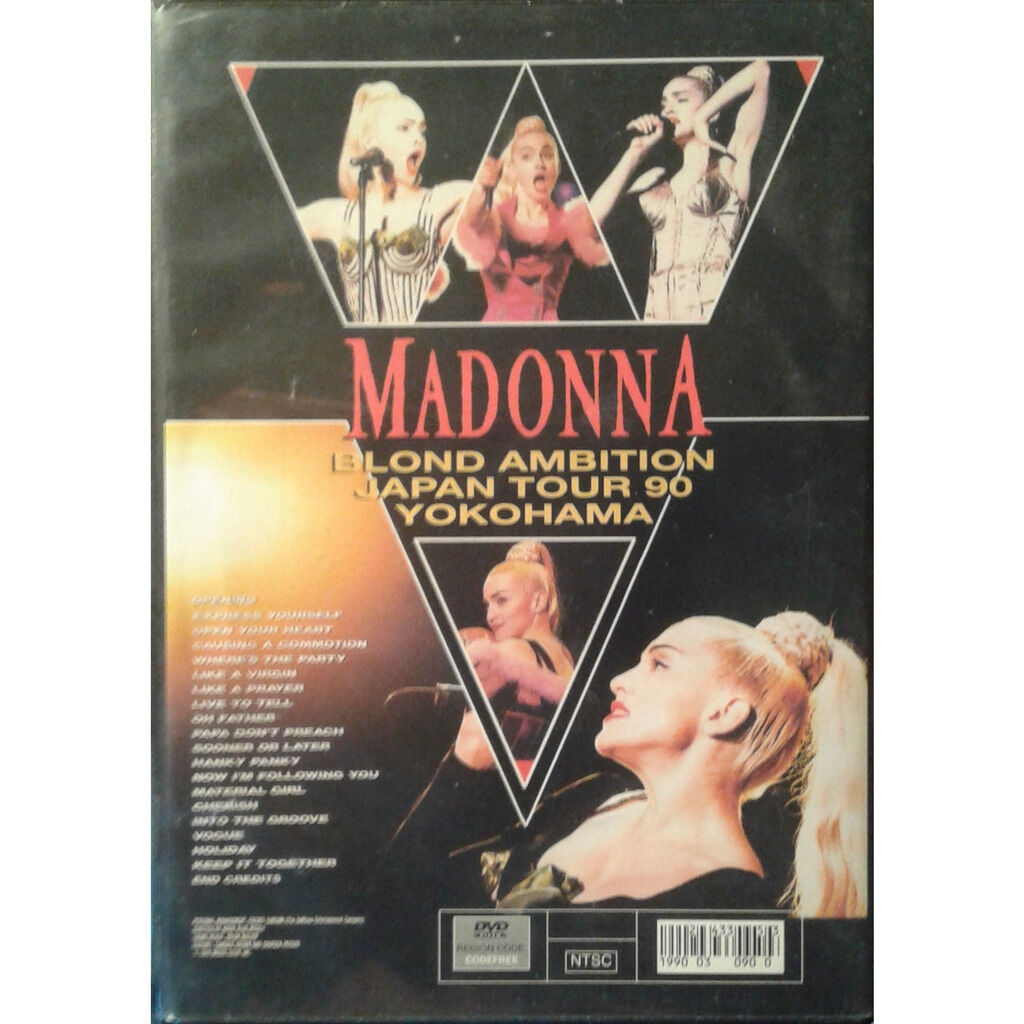 Madonna Blond Ambition Japan Tour 90 Yokohama
