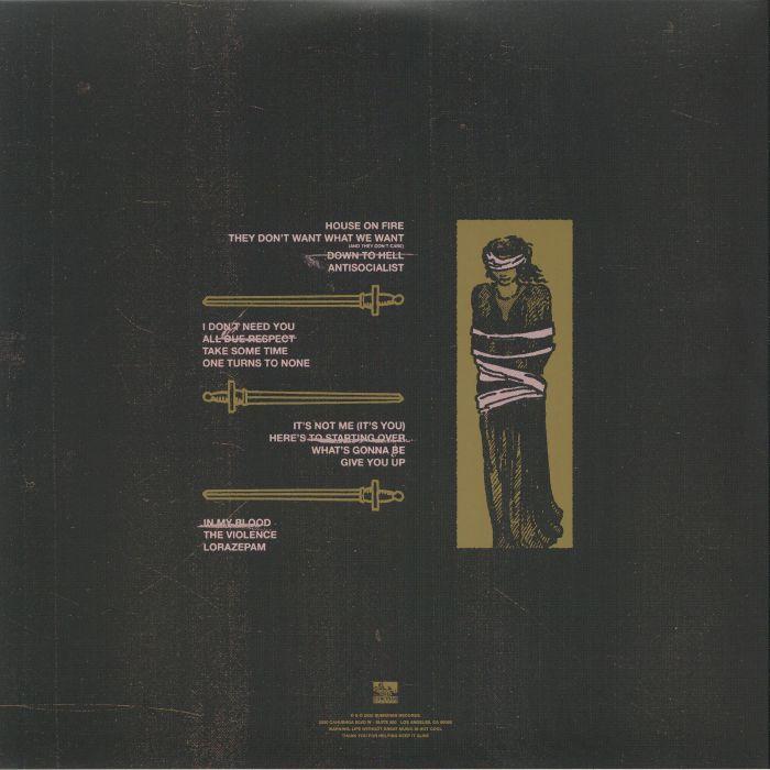 Asking Alexandria Like A House On Fire (2xlp) Ltd Edit Opaque Pink Vinyl -E.U