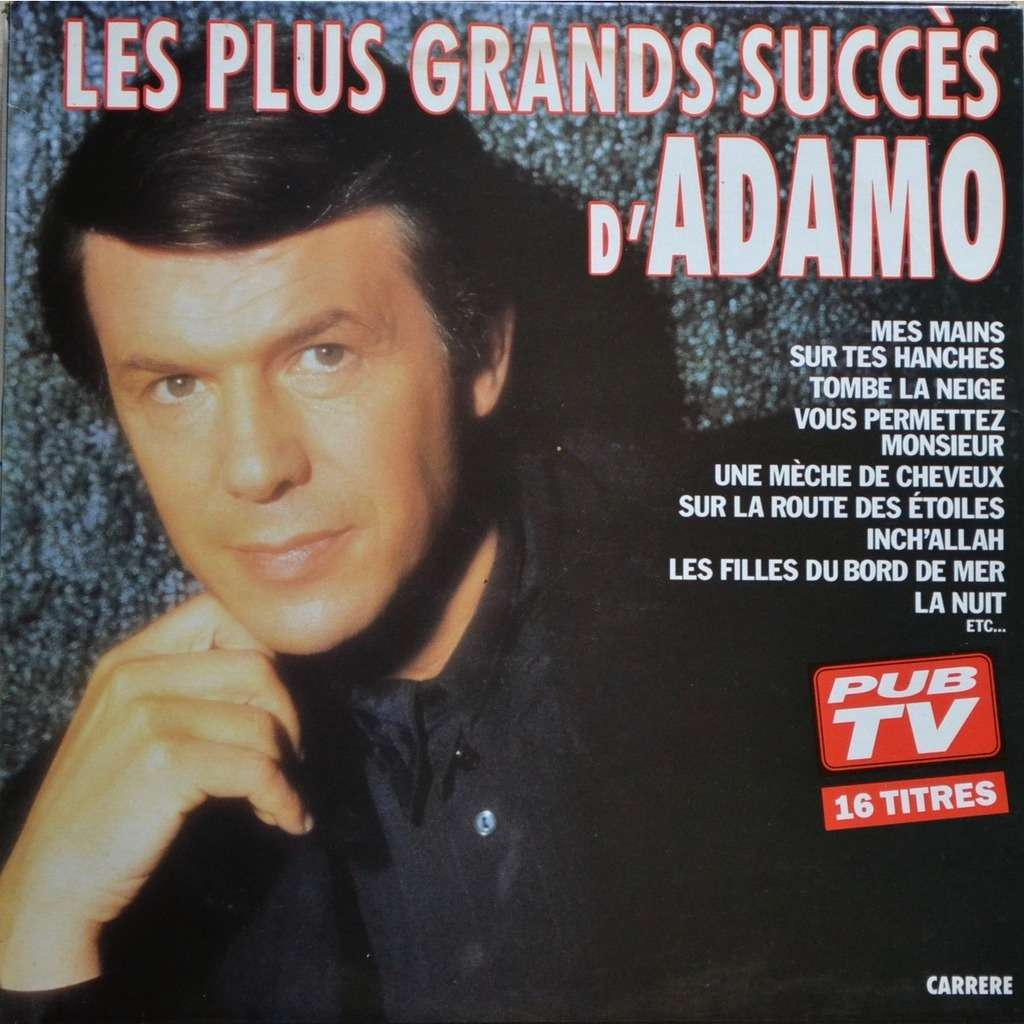 Adamo Les Plus Grands Succès D'Adamo (PUB TV)