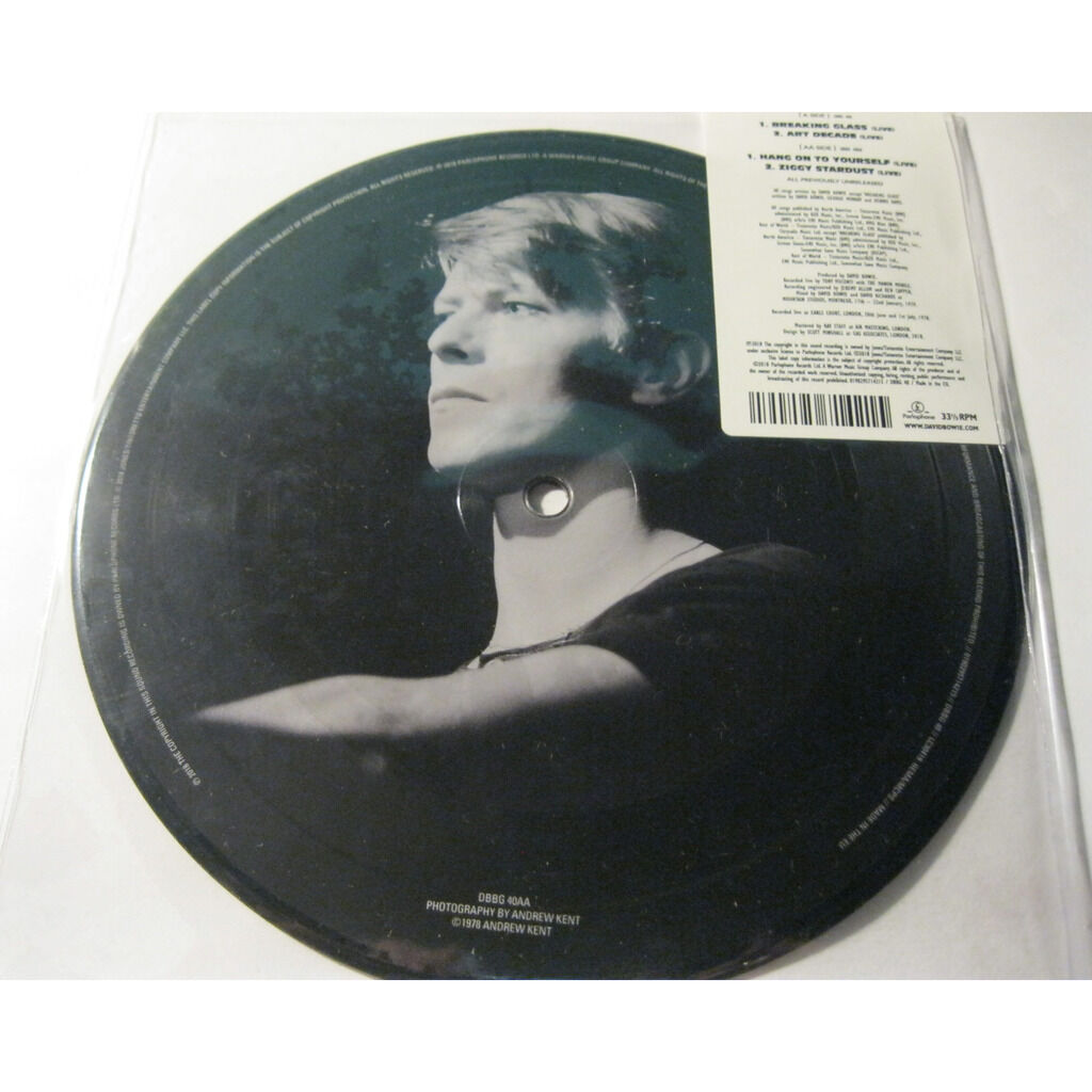 David Bowie Breaking Glass - Live EP - 40th anniv ( Picture disc - Limited edition )