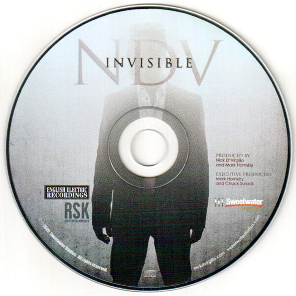 NICK D'VIRGILIO Invisible