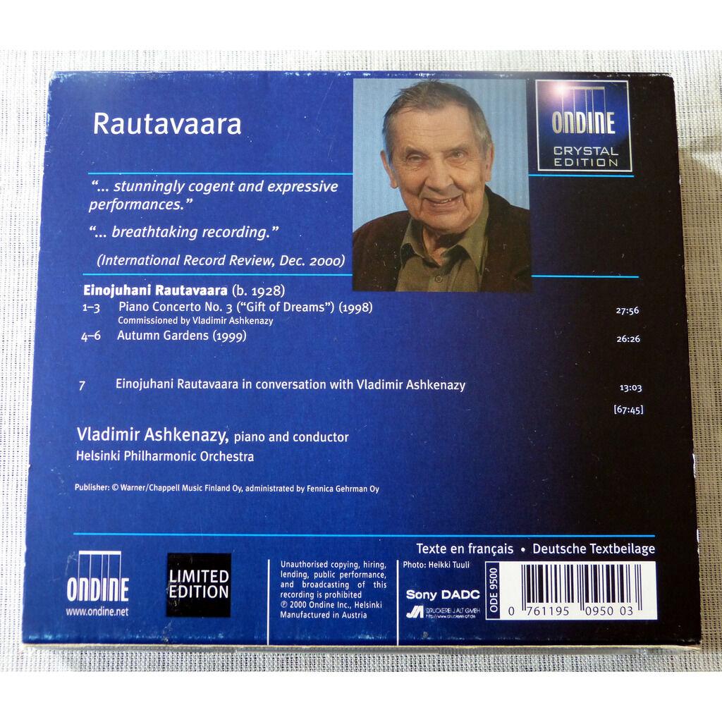 Einojuhani Rautavaara piano concerto N°3 / Autumn Garden