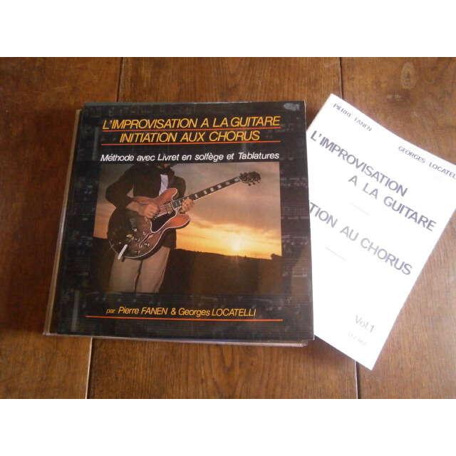 fanen pierre / Georgs Locatelli L'imrovisation à la guitare
