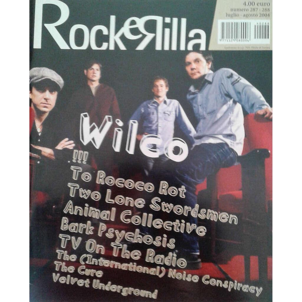 Wilco Rockerilla (N.287 Aug. 2004) (Italian 2004 Wilco front cover magazine!!)