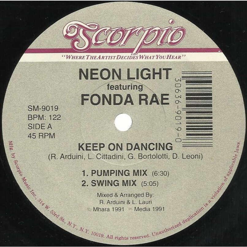 NEON LIGHT (feat. Fonda RAE) keep on dancing - 4mix