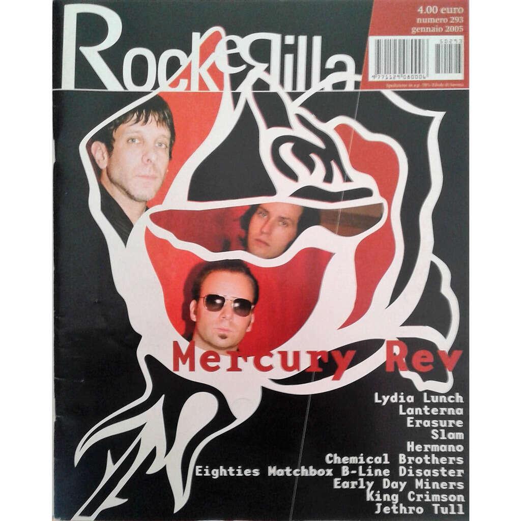 Mercury Rev Rockerilla (N.293 Jan. 2005) (Italian 2005 Mercury Rev front cover magazine!!)