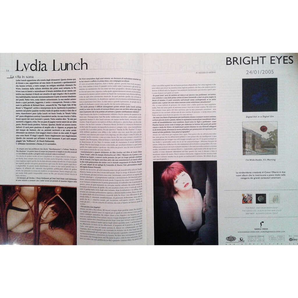Lydia Lunch Rockerilla (N.293 Jan. 2005) (Italian 2005 music magazine!!)
