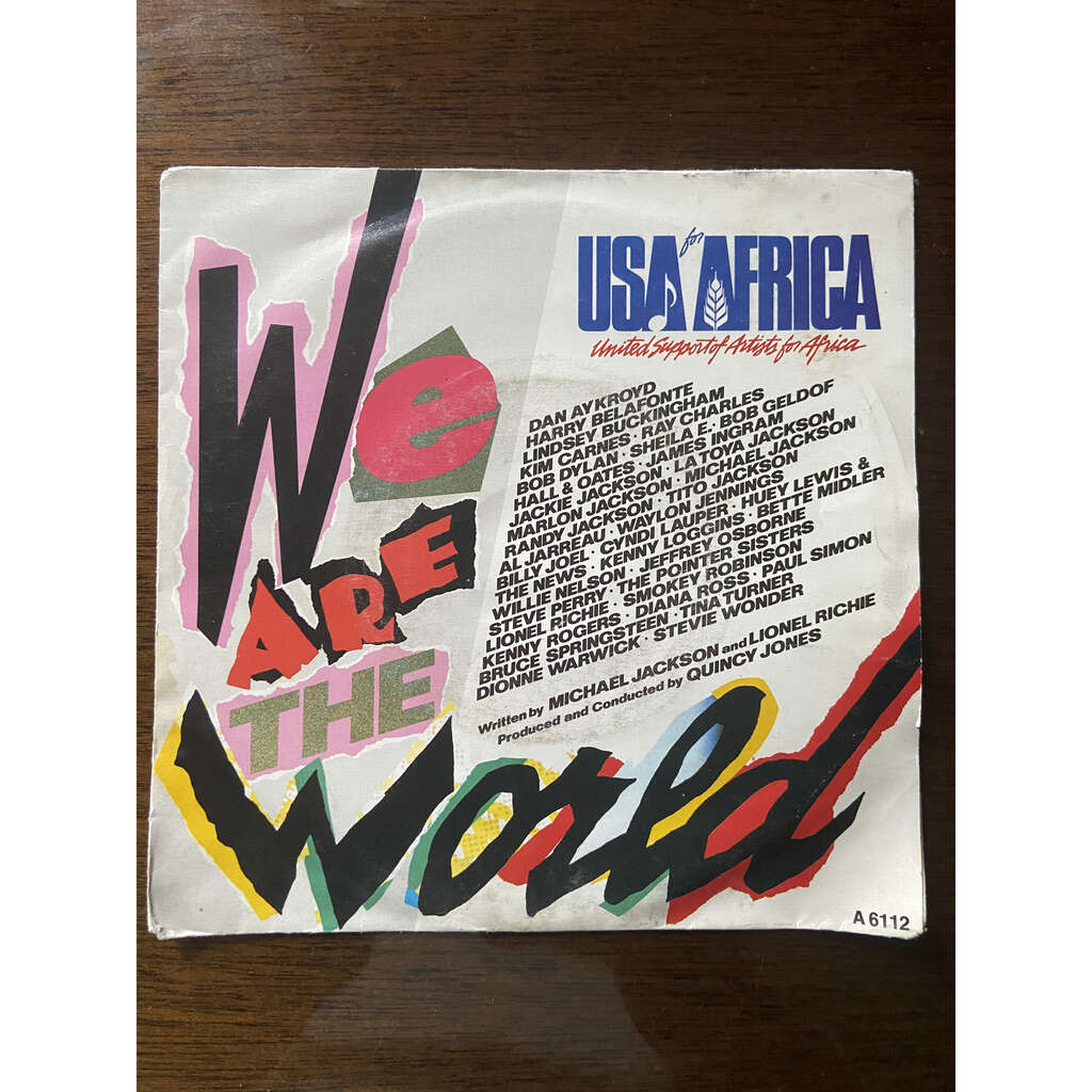 USA For Africa - We Are The World USA For Africa - We Are The World