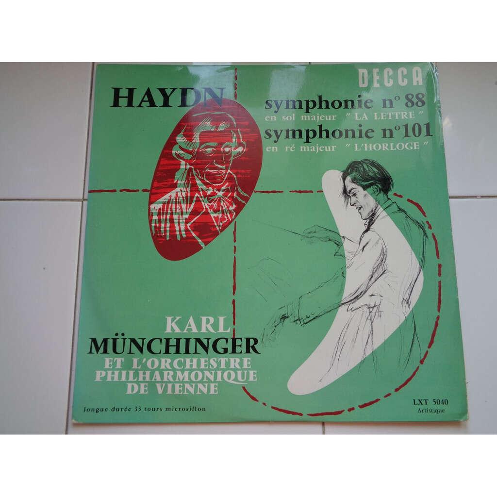 karl munchinger - Vienna Philharmonic Orchestra Haydn : symphonies N° 88 et 101