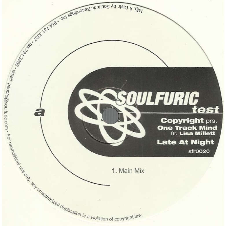 ONE TRACK MIND (feat. Lisa MILLETT) late at night - 3mix