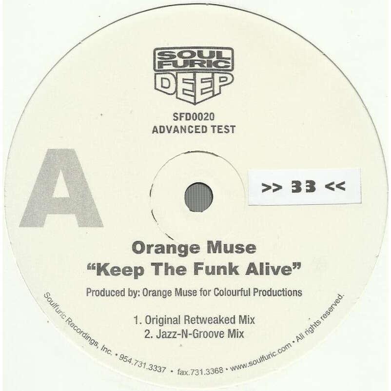 ORANGE MUSE keep the funk alive - 4mix