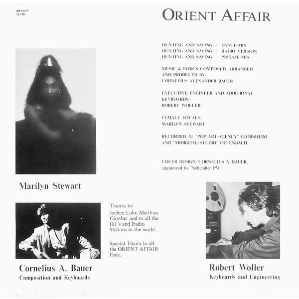 ORIENT AFFAIR hunting and saving - 3mix
