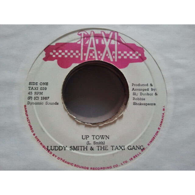 Luddy Smith & The Taxi Gang Up Town / VERSION ORIG