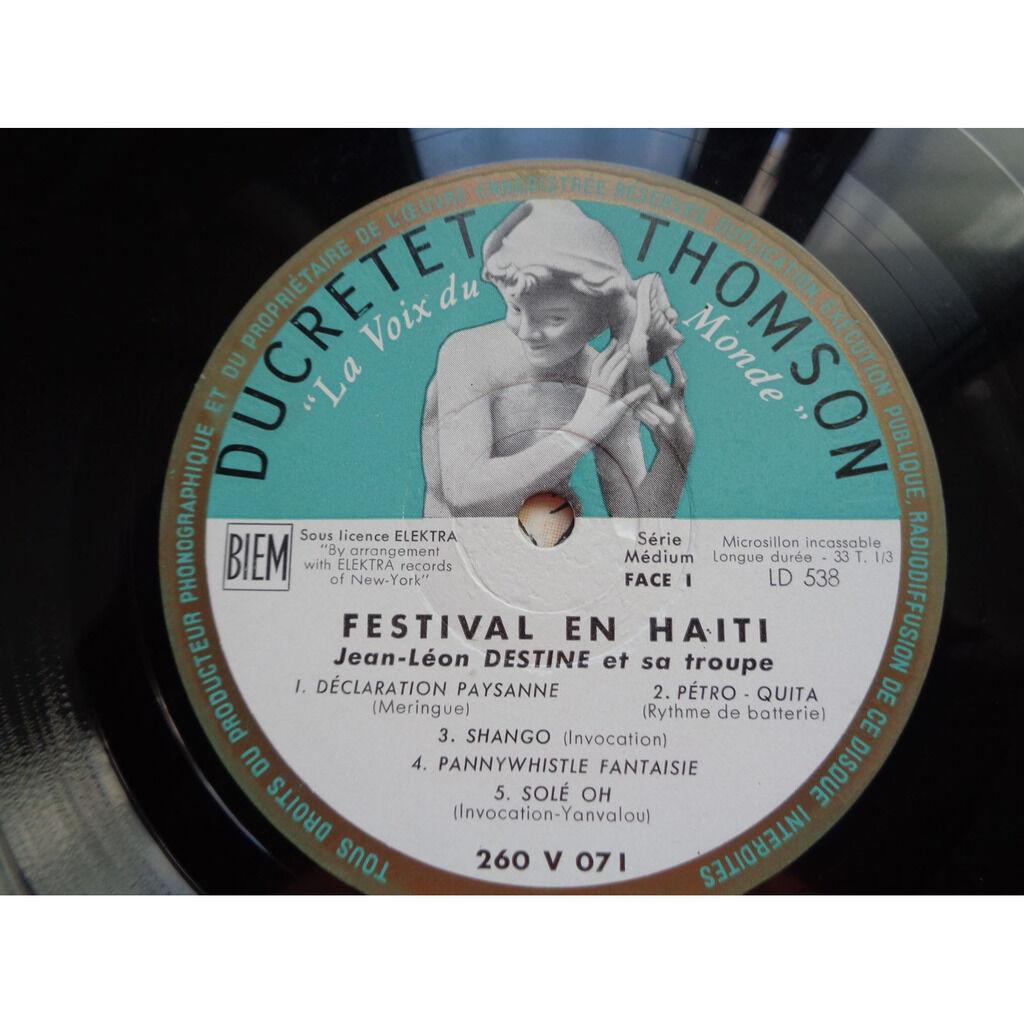 Jean Léon Destiné Festival En Haiti - ( rare lp 10 )