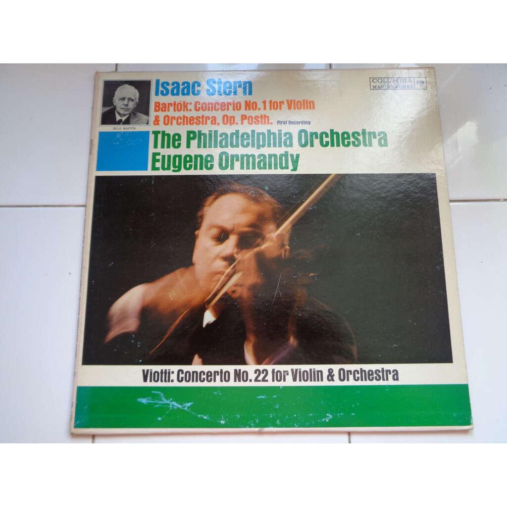 Isaac Stern - Eugene Ormandy dir philadelphia Bartok : Concerto No.1 for violin & orchestra - Viotti : concerto n°22 for violin & orchestra