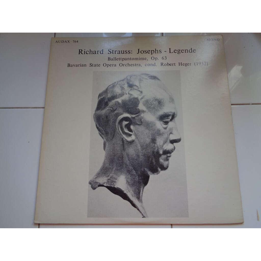 Richard Strauss Josephs-Legende / Ballettpantomime, Op. 63 (Heger)