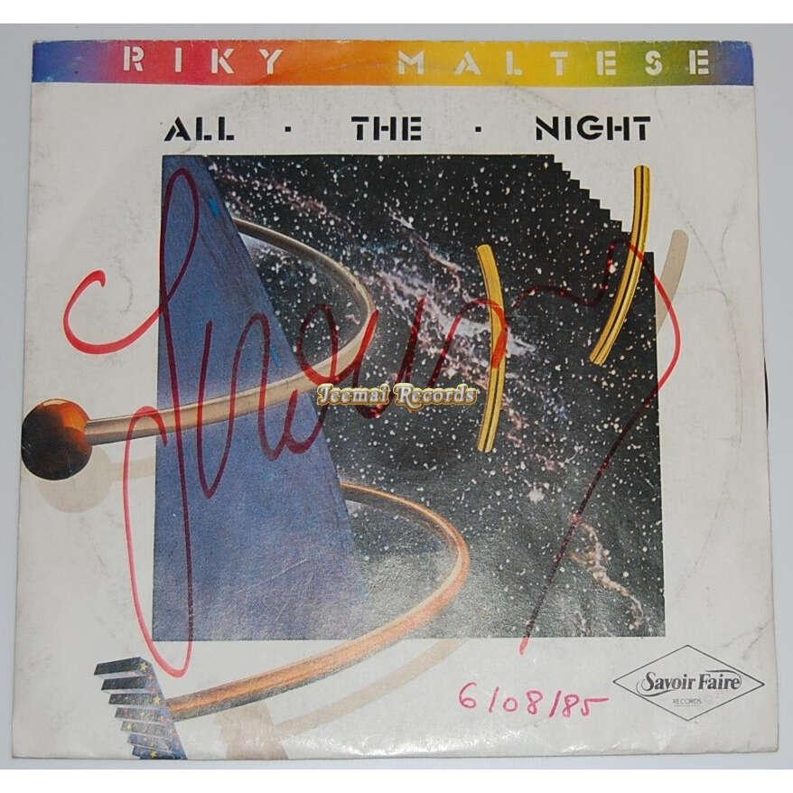 Riky MALTESE all the night / instru.