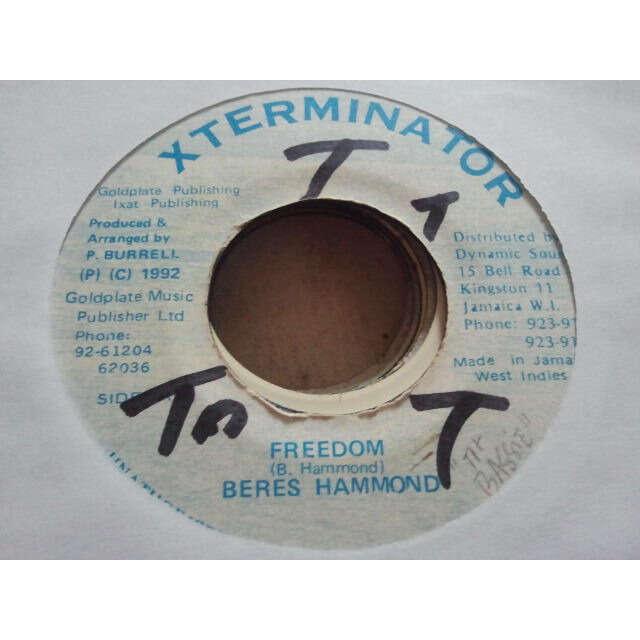 Beres Hammond Freedom / VERSION ORIG