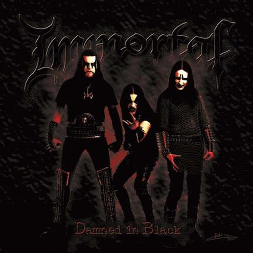 IMMORTAL Damned in Black. Brazil Import
