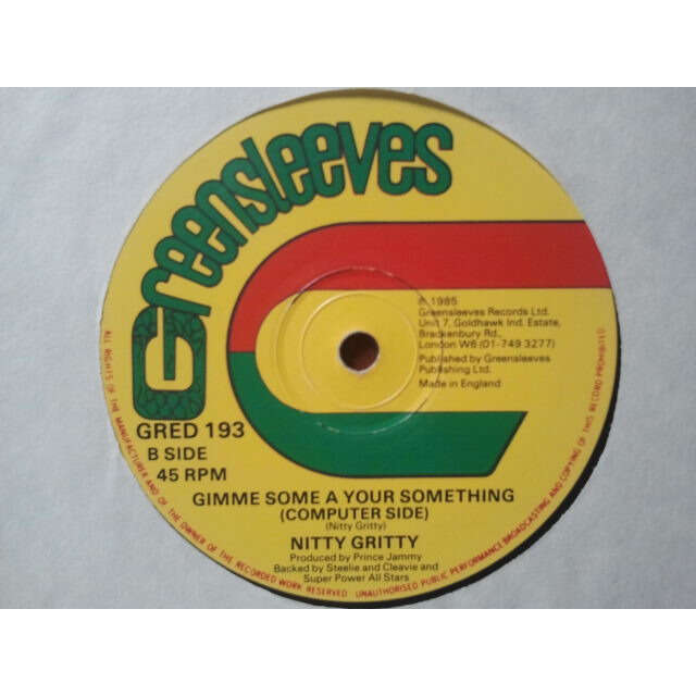 Nitty Gritty Gimme Some A Your Something ORIG