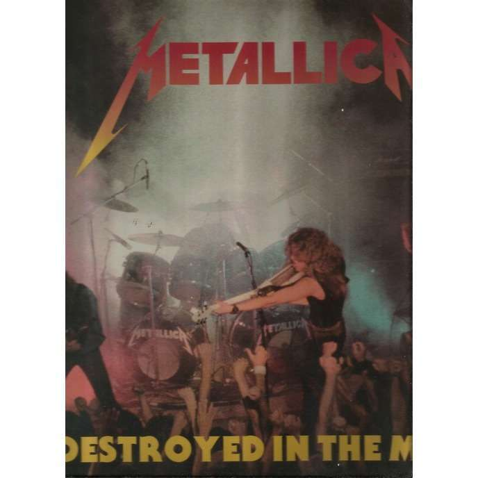 metallica destroyed in the mosh