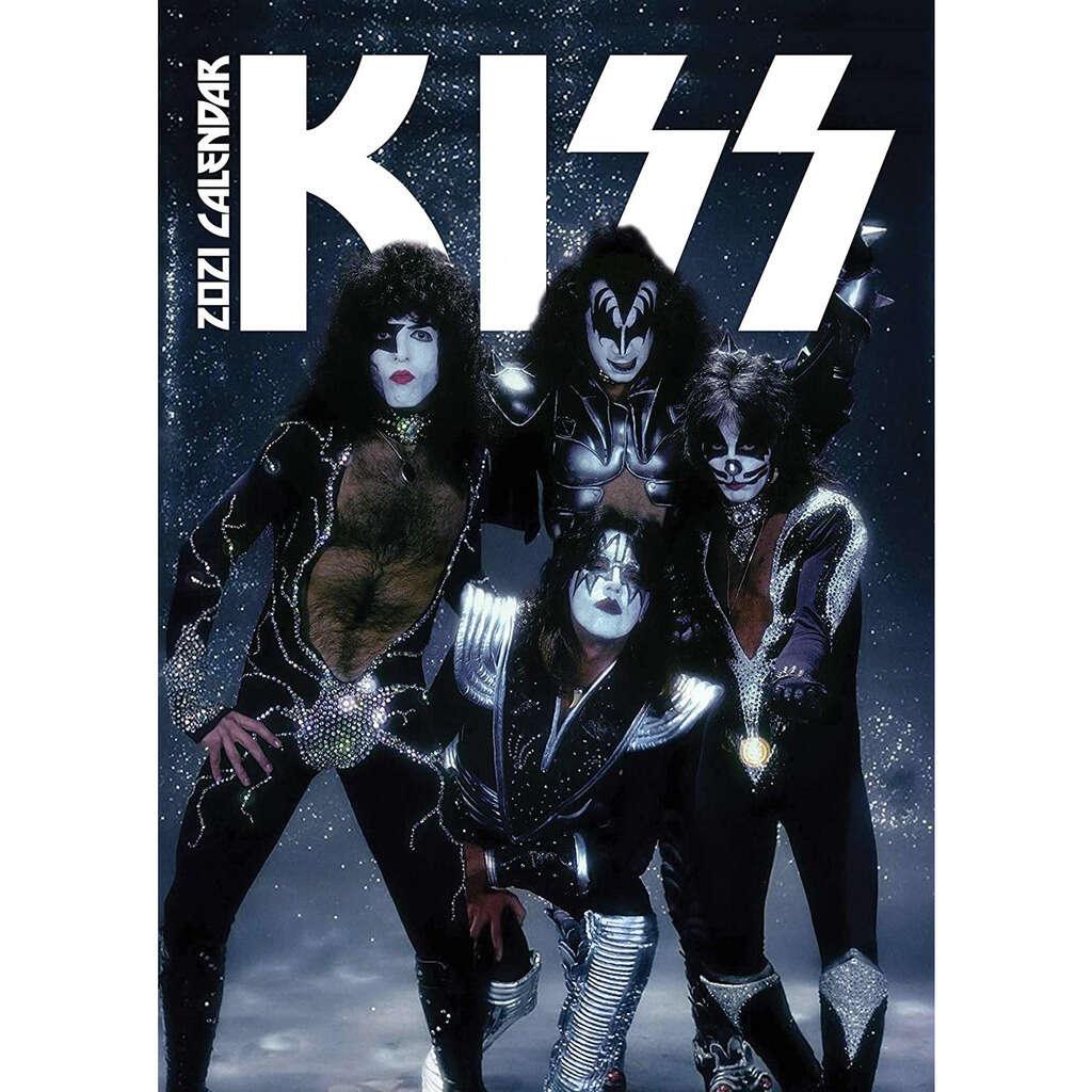 Kiss 2021 Calendrier A3