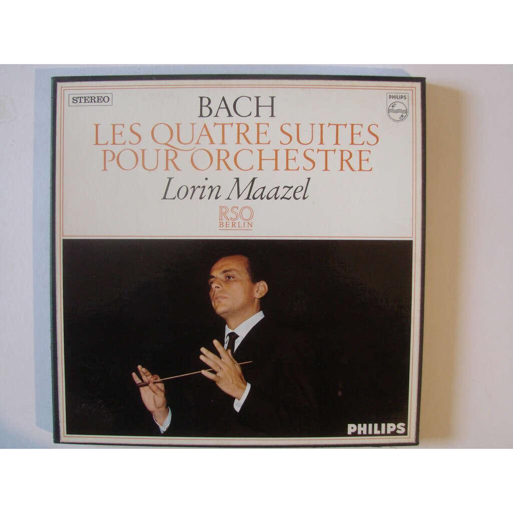 Lorin Maazel R.S.O Berlin Bach : les quatre suites pour orchestre
