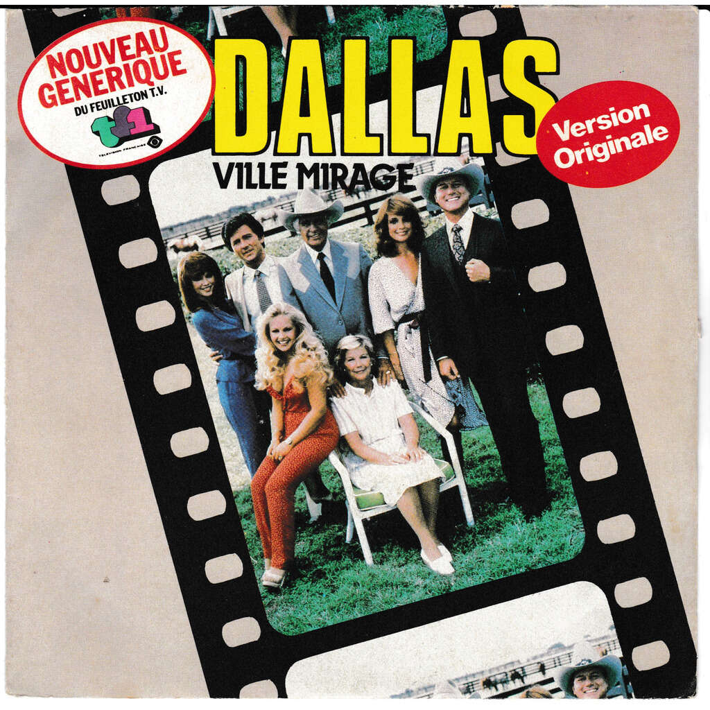 GROUPE DALLAS DALLAS Ville Mirage SUE ELLEN'S Theme
