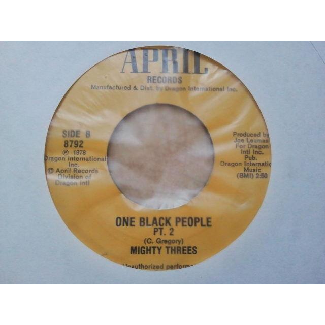 Mighty Threes One Black People / PT 2 ORIG