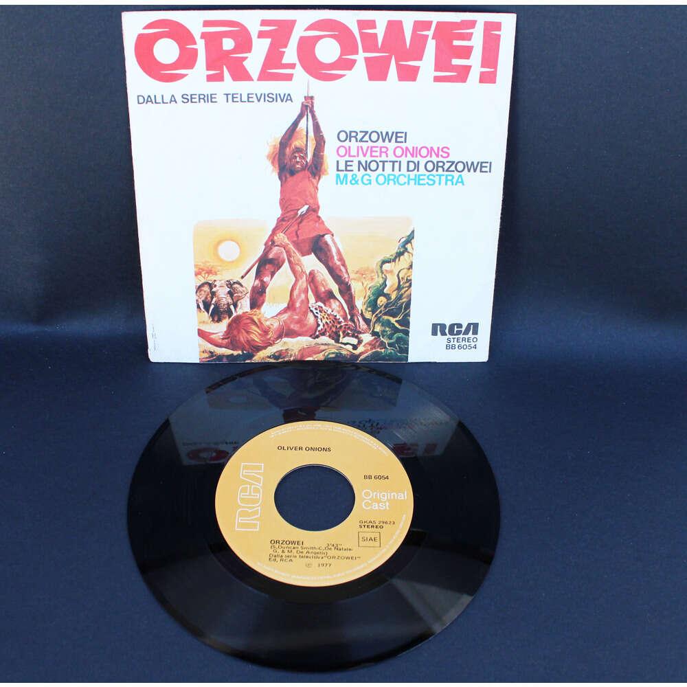 Oliver Onions / M & G Orchestra Orzowei / Le Notti Di Orzowei