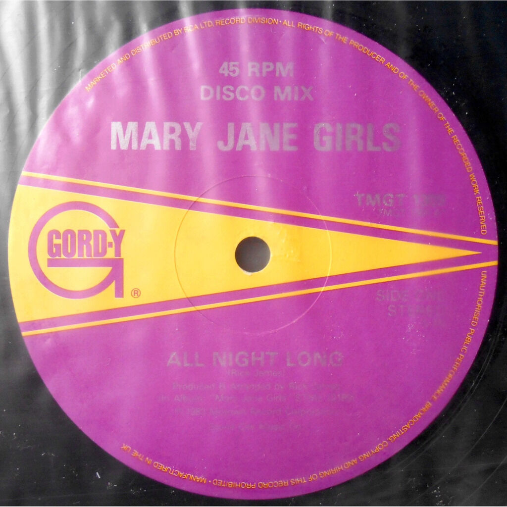 mary jane girls all night long / musical love