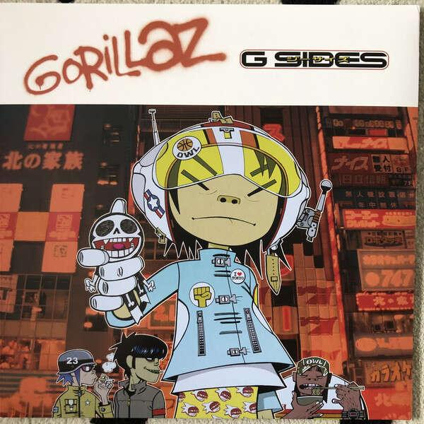 gorillaz g- sides - rsd 2020