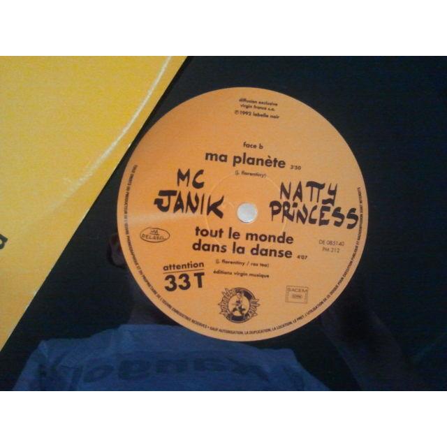MC Janik & Natty Princess Natty Princess / Ma Planète / Tout Le Monde Dans La Danse ORIG