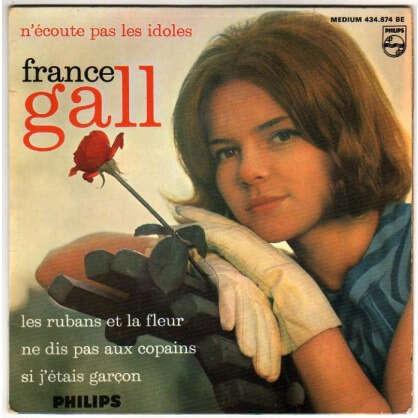 GALL FRANCE N'ECOUTE PAS LES IDOLES + 3 - N°2 - 2EME POCHETTE