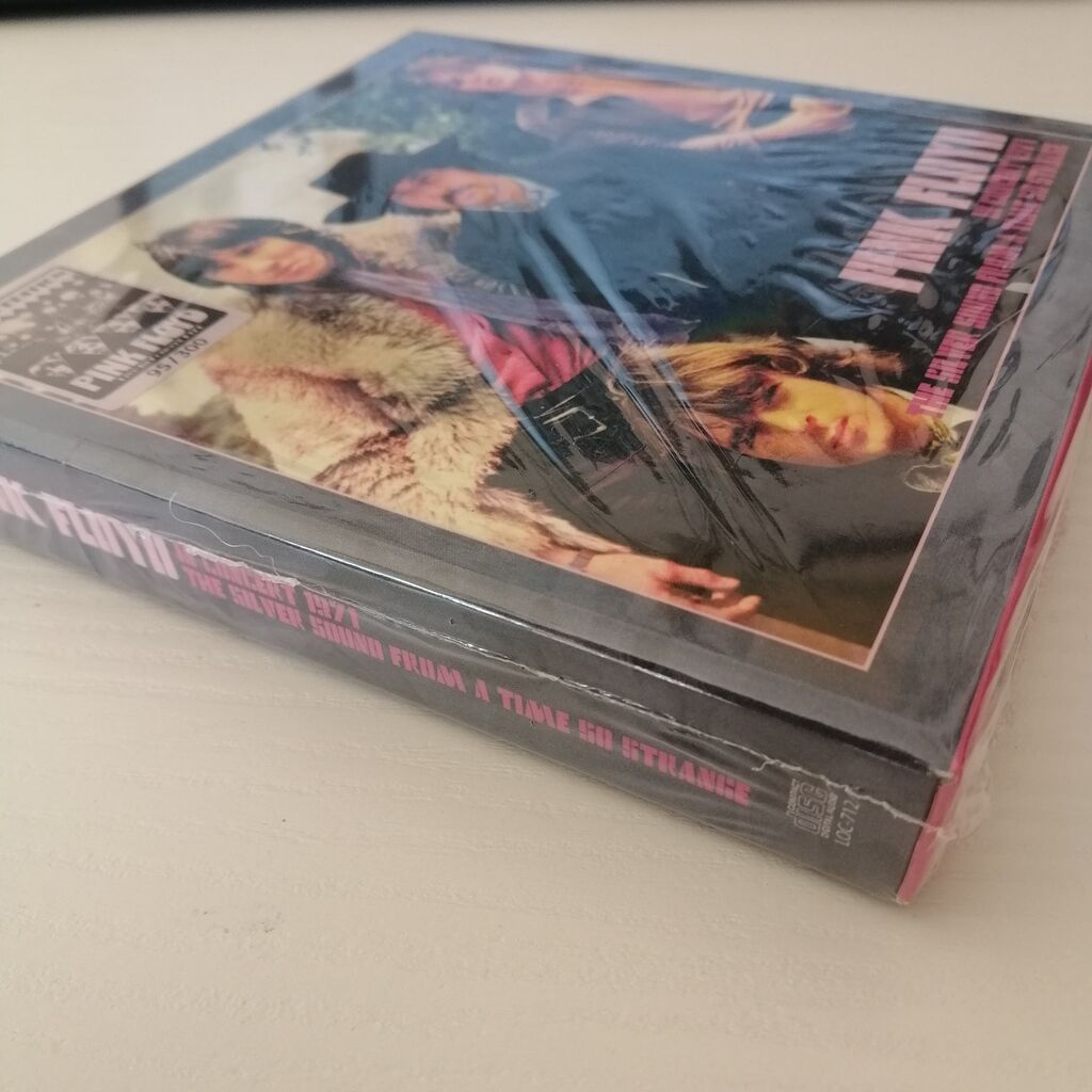 pink floyd 10 CD In concert 1971 - The Silver Sound From A Time So Strange