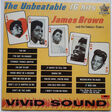 james brown & the famous flames the unbeatable james brown