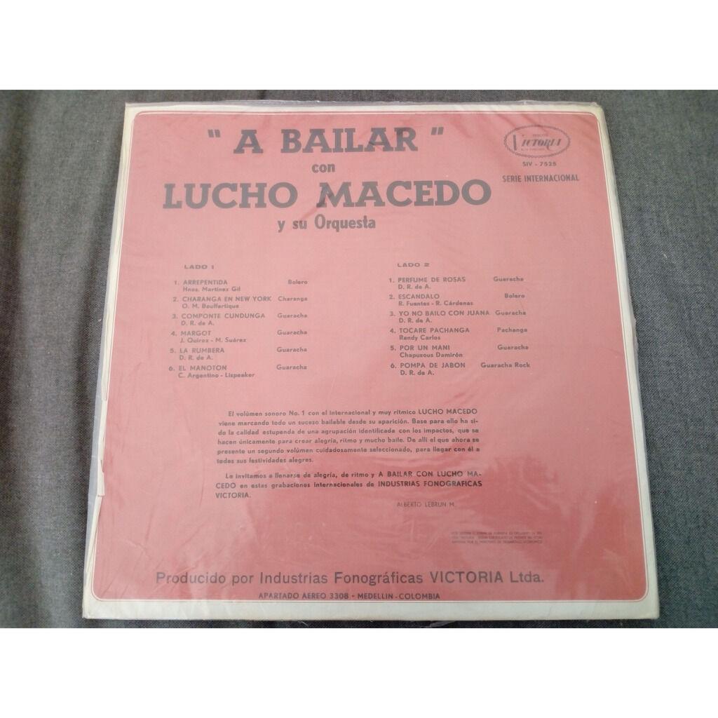 Lucho Macedo Y Su Orquesta A Bailar Con Lucho Macedo Vol. 2