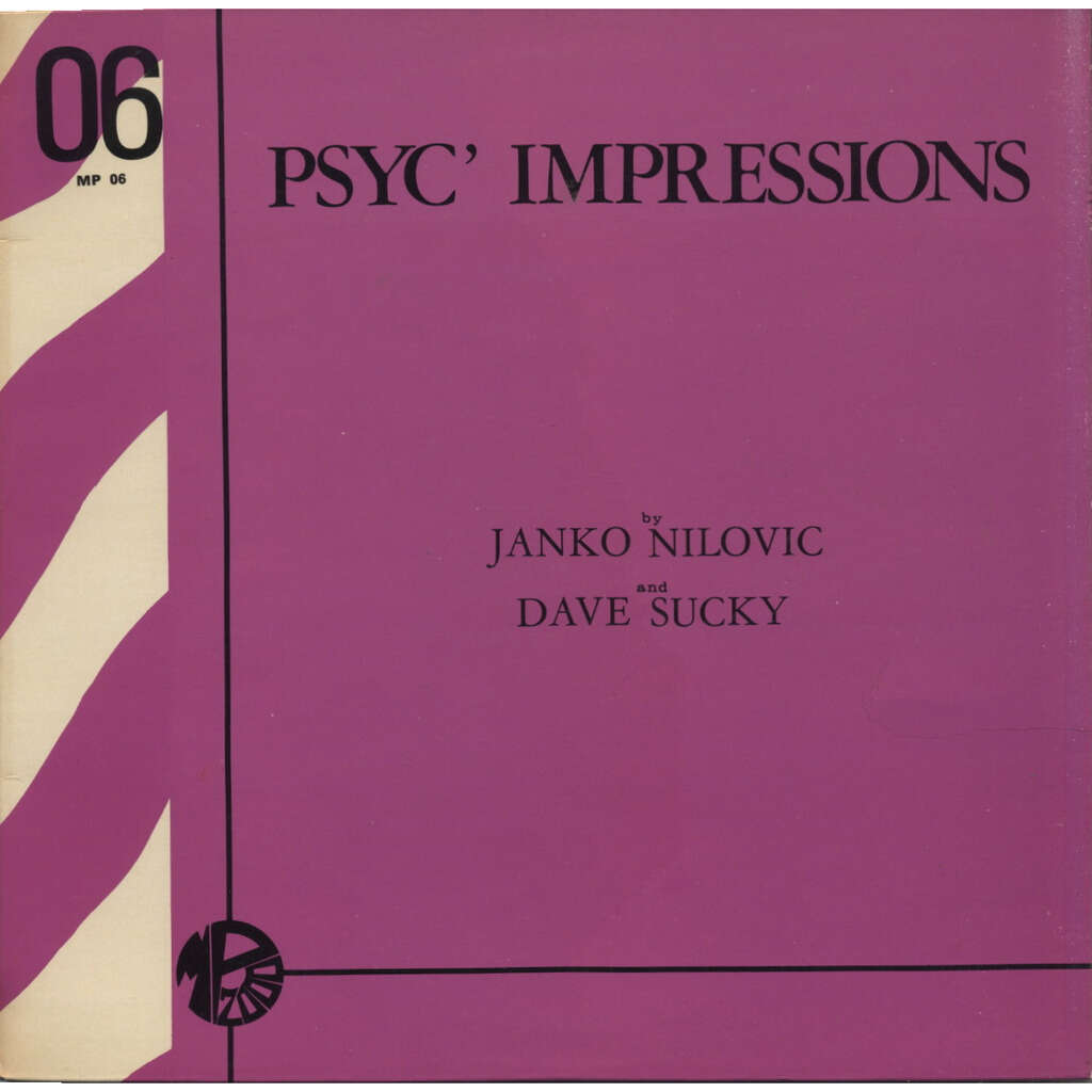 JANKO NILOVIC and DAVE SUCKY Psyc' Impressions (Library - Illustration Sonore - Psychedelic) STEREO