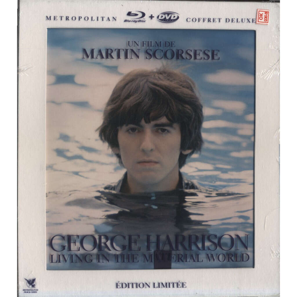 MARTIN SCORCESE, Olivia & George Harrison GEORGE HARRISON Living In The Material World (FRENCH DELUXE LIMITED EDITION) + Eric Clapton, Terry