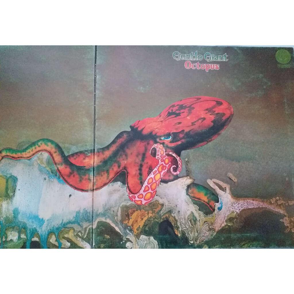 gentle giant octopus - 1st uk press