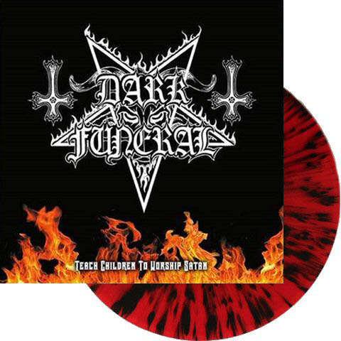 DARK FUNERAL Teach Children to Worship Satan. Splatter Vinyl