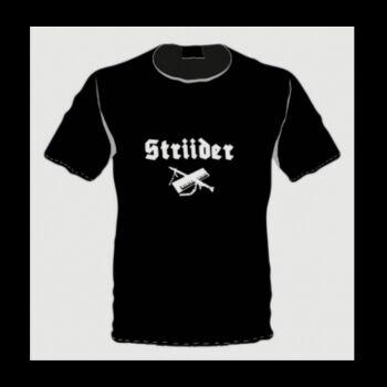 STRIIDER T-shirt Dark Ambient - Martial SIZE: L Genre: Dark Ambient, Militaryambient, Martial Like: Das Brandopfer, Arditi, Ryr, Front Sonore