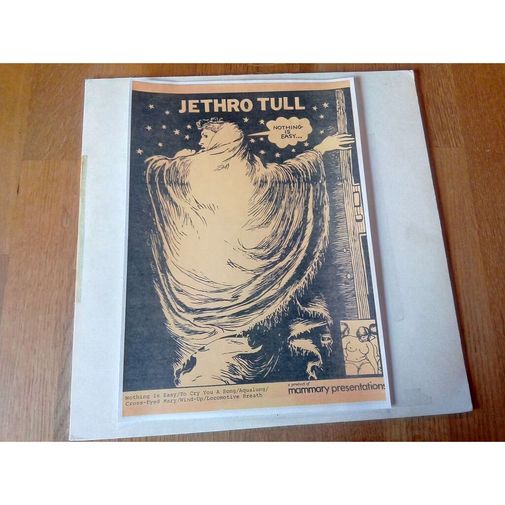 jethro tull Nothing is easy