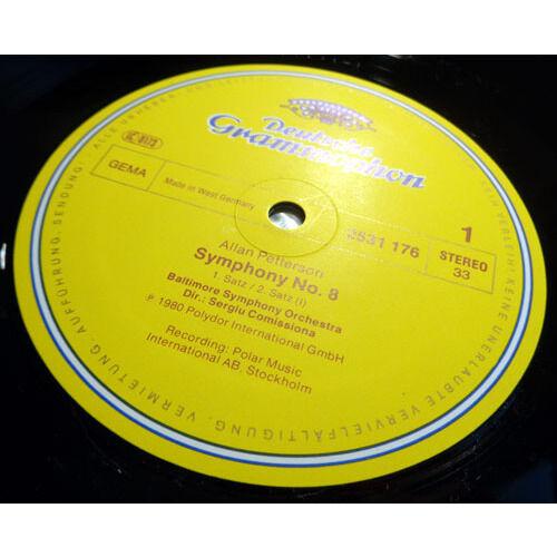 SERGIU COMMISSIONA & BALTIMORE SYMPHONY ALLAN PETTERSSON Symphony n°8