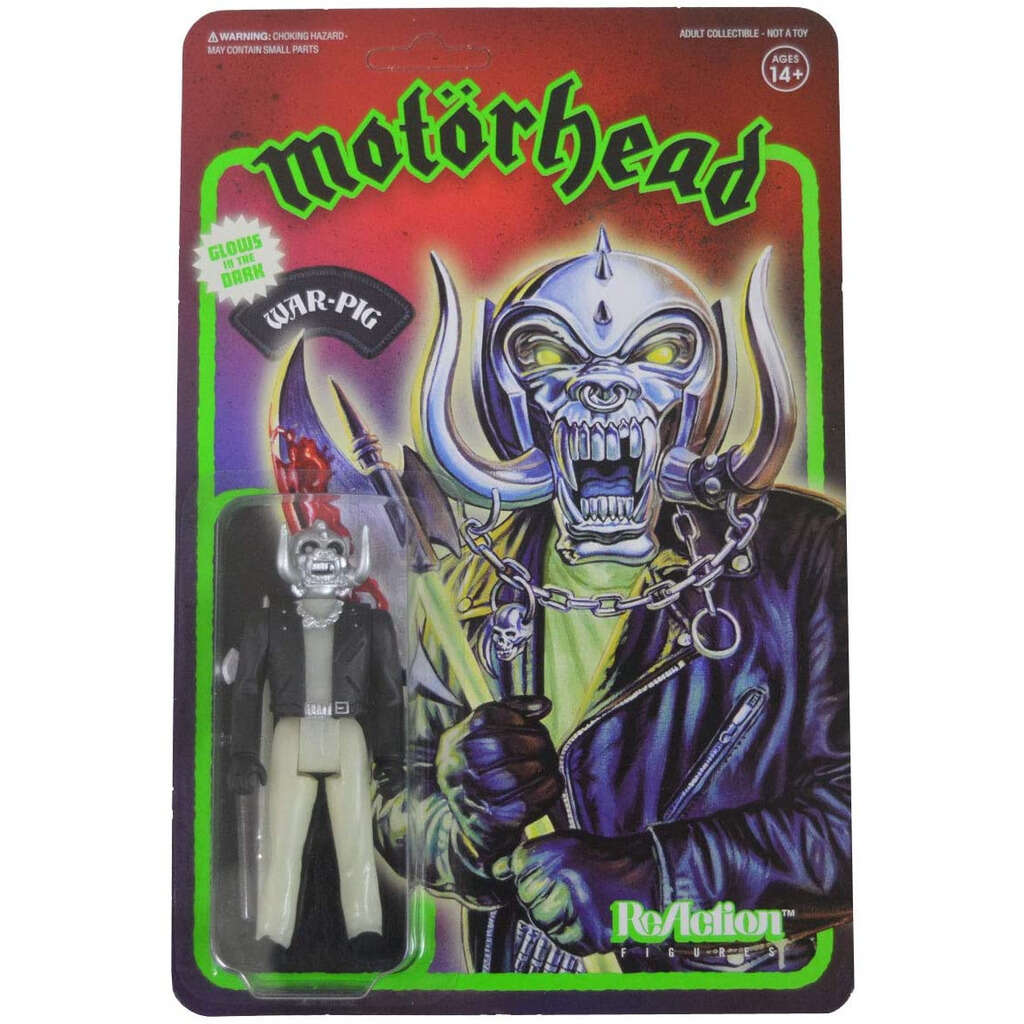 Motörhead ReAction Figure - Warpig (Glow in the Dark)