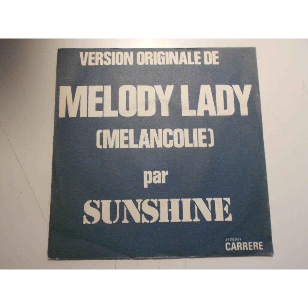 sunshine melody lady § worshippin the sun at dawn